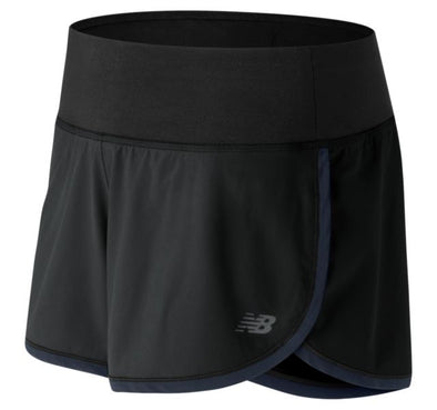 "New Balance Women's Impact 3"" Short - Black"