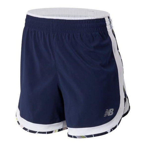 "New Balance Women's Accelerate 5"" Short - Pigment"