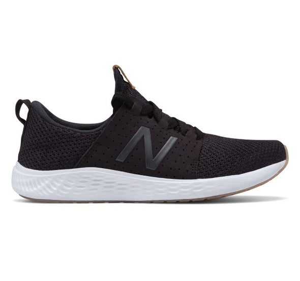 New Balance Women's Arishi Sport Road Running Shoes-Black/White