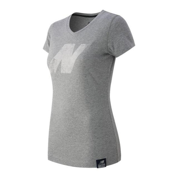 New Balance Women's N Tee - Athletic Grey