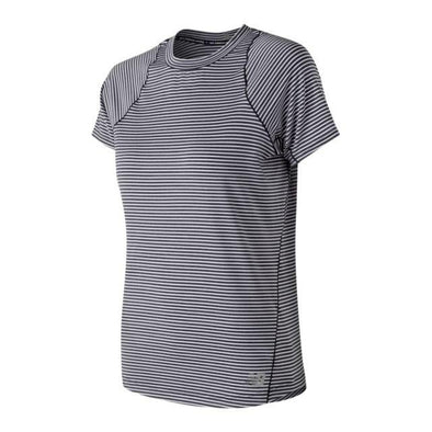 New Balance Women's Seasonless Short Sleeve- Eclipse