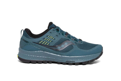Saucony Men's Xodus 10 Trail Running Shoes-Steel