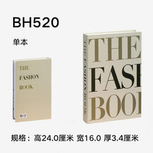Load image into Gallery viewer, Fake Book Home Decoration Book Fashion Books for Table Decorative Model Coffee Shop Hotel Study Soft-fitting Props Book Model