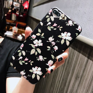 Sale Collection - Flower Soft TPU iPhone Phone Case - Beautiful In Pink Collection