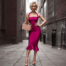 Load image into Gallery viewer, Just Pink Collection - Women's Spaghetti Strap Mermaid Dress - Beautiful In Pink Collection
