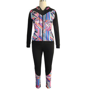 Just Beautiful Collection - Women's Two-Piece Set With Hoodie And Pants - Beautiful In Pink Collection