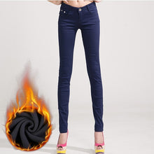 Load image into Gallery viewer, Just Beautiful Collection - Women's Candy Colors Stretch Skinny Jeans - Beautiful In Pink Collection