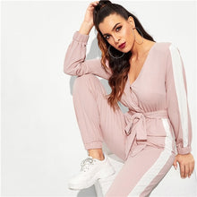 Load image into Gallery viewer, Just Pink Collection - Women's Long-sleeved Strapless Jumpsuit - Beautiful In Pink Collection
