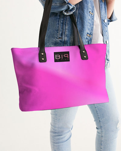 Beautiful In Pink Collection Dye Fade Stylish Tote - Beautiful In Pink Collection