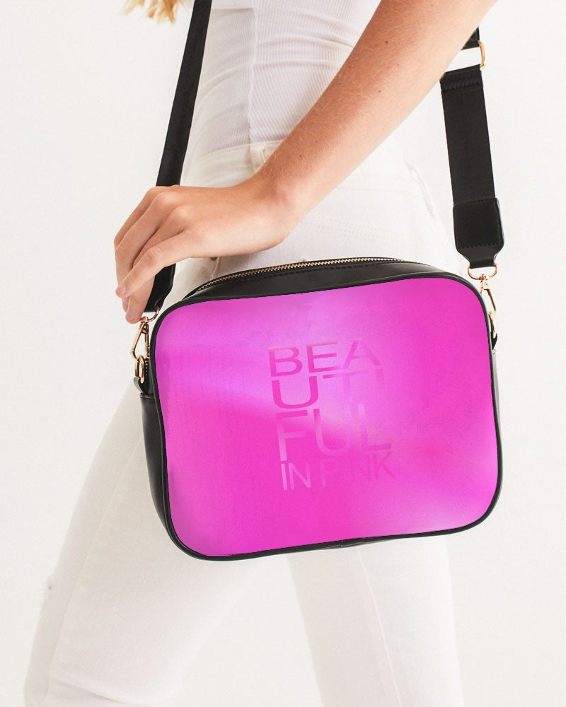 Beautiful In Pink Collection Dye Fade Crossbody Bag - Beautiful In Pink Collection