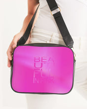 Load image into Gallery viewer, Beautiful In Pink Collection Dye Fade Crossbody Bag - Beautiful In Pink Collection