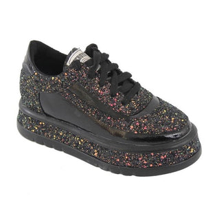 Sale Collection - Women's Sequin Slip Sneakers - Beautiful In Pink Collection