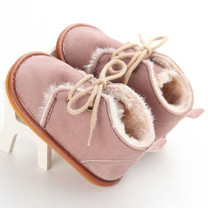 Sale Collection - Snow Boots for Newborn Infant Baby Girl or Boy - Beautiful In Pink Collection