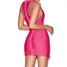 Load image into Gallery viewer, Just Pink Collection - Women's Sleeveless Bandage Dress - Beautiful In Pink Collection