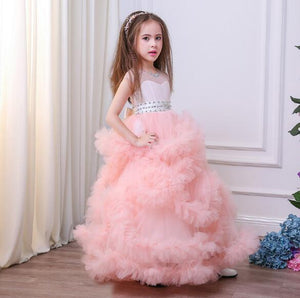 Sale Collection - Girl's 2-13 Pageant Tulle Princess Dress - Beautiful In Pink Collection