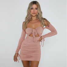 Load image into Gallery viewer, Just Beautiful Collection - Women's Party Night Club Dress - Beautiful In Pink Collection