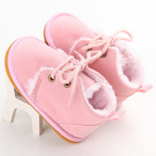 Load image into Gallery viewer, Sale Collection - Snow Boots for Newborn Infant Baby Girl or Boy - Beautiful In Pink Collection