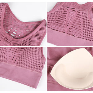 Just Pink Collection - Women's Seamless Activewear Sports Bra - Beautiful In Pink Collection