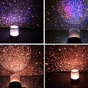 Sale Collection - LED Starry Sky Magic Universe Decorative Projector Lamp Night Light - Beautiful In Pink Collection
