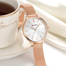Load image into Gallery viewer, Just Pink Collection - Rose Gold Curren Wrist Watch - Beautiful In Pink Collection