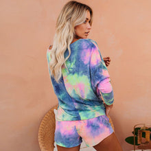 Load image into Gallery viewer, Just Beautiful Collection - Women's Tie Dye Colorful Tracksuit Set - Beautiful In Pink Collection