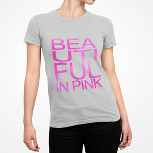 Beautiful In Pink Collection - Women's Sport Mesh Tee (Grey) - Beautiful In Pink Collection