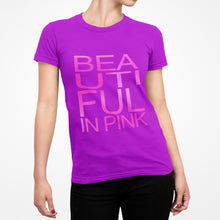 Load image into Gallery viewer, Beautiful In Pink Collection - Women's Sport Mesh Tee (Grey) - Beautiful In Pink Collection