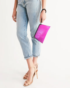 Beautiful In Pink Collection Dye Fade Wristlet - Beautiful In Pink Collection