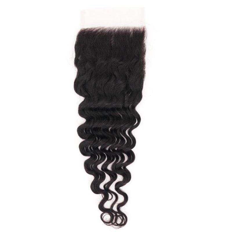 BIP Hair Collection - Brazilian Deep Wave HD Closure - Beautiful In Pink Collection