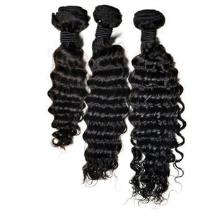 BIP Hair Collection - Brazilian Deep Wave Bundle Deals - Beautiful In Pink Collection