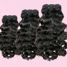 Load image into Gallery viewer, BIP Hair Collection - Curly Indian Hair Bundle Deal - Beautiful In Pink Collection