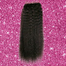 Load image into Gallery viewer, BIP Hair Collection - Brazilian Kinky Straight Closure - Beautiful In Pink Collection