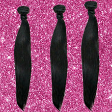 Load image into Gallery viewer, BIP Hair Collection - Brazilian Silky Straight Bundle Deals - Beautiful In Pink Collection