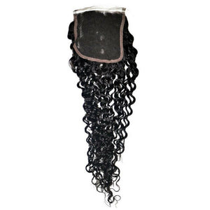 BIP Hair Collection - Brazilian Kinky Curly Closure - Beautiful In Pink Collection