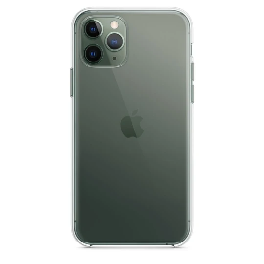 iPHONE 11 PRO MAX CLEAR TRANSPARENT CASE