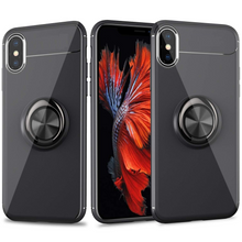 Load image into Gallery viewer, iPHONE XR FINGER RING SILICONE CASE