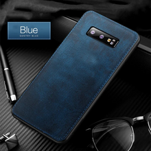 Load image into Gallery viewer, Galaxy S9 Plus Cloth Canvas Fabric Leather Case