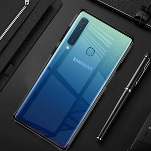 GALAXY A9 2018 SILICONE ULTRA THIN TRANSPARENT CASE