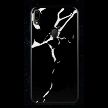 Load image into Gallery viewer, Samsung Galaxy M20 Marble Back Case White & Black