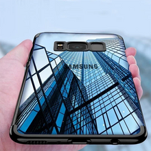 Load image into Gallery viewer, Galaxy S8 Plus Electroplating Ultra Thin Transparent Case