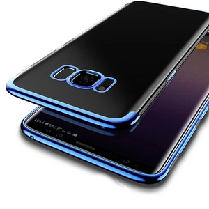 Galaxy S8 Plus Electroplating Ultra Thin Transparent Case