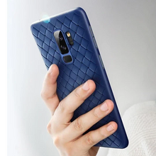 Load image into Gallery viewer, Galaxy A6 Plus Soft Silicone Weave Case