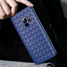 Load image into Gallery viewer, Galaxy S9 Soft Silicone Weave Case