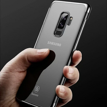 Load image into Gallery viewer, Galaxy S9 Plus Silicone Ultra Thin Transparent Case