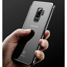 Load image into Gallery viewer, Galaxy A6 Plus Silicone Ultra Thin Transparent Case