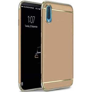 GALAXY A7 2018 ELECTROPLATED 3IN1 PROTECTION HARD CASE