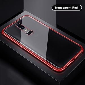 OnePlus 7 Double Side Auto-fit Electronic Magnetic Back Case