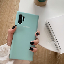 Load image into Gallery viewer, Galaxy Note 10 Plus Soft Silicone Case
