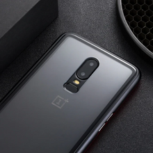 Load image into Gallery viewer, OnePlus 7 Pro Auto-fit Electronic Magnetic Back Case - Black
