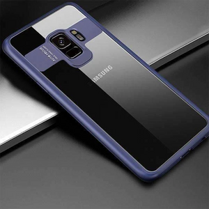 Galaxy S9 Transparent Bumper Auto-Focus Case